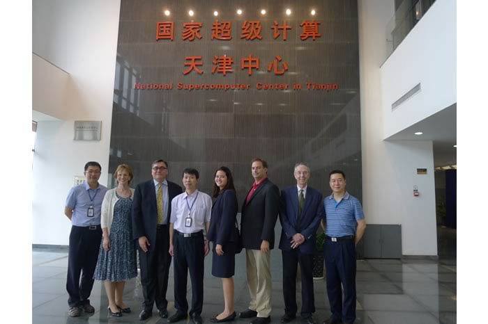 ATIP and Lawrence Livermore National Laboratory (LLNL) visit the Tianjin National Supercomputer Center (NSC) in China.