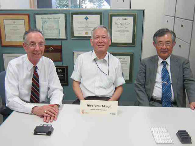 Dr. Kahaner and ATIP Senior Technology Analyst Masao IMAIZUMI with Prof. Hirofumi AKAGI (center) at the Tokyo Institute of Technology (Tokyo Tech) in Japan.