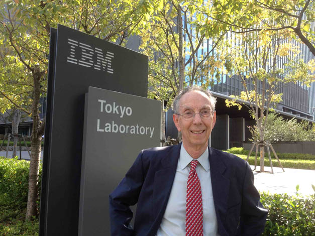 ATIP President David Kahaner at IBM Tokyo Research Laboratory (TRL) in Japan