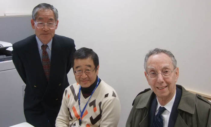 ATIP visits Professor Yoshihisa YAMAMOTO (center) at the National Institute of Informatics (NII) in Japan.