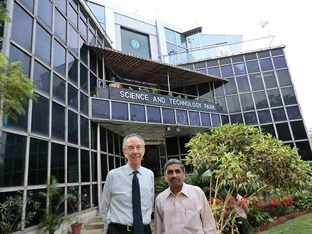 The Centre for Development of Advanced Computing (C-DAC) Science Park at Pune University in India in December 2012.