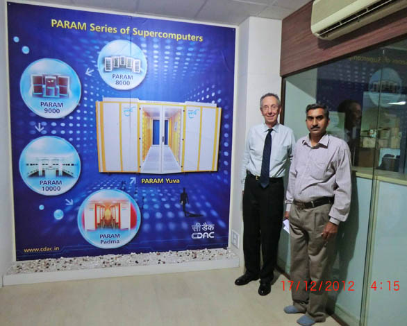 PARAM Yuva is the latest in the series of supercomputers at the Centre for Development of Advanced Computing (C-DAC) headquartered in Pune, India