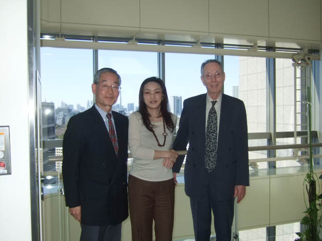 ATIP visits the National Institute of Informatics (NII) in Japan with Professor Kae NEMOTO (center).