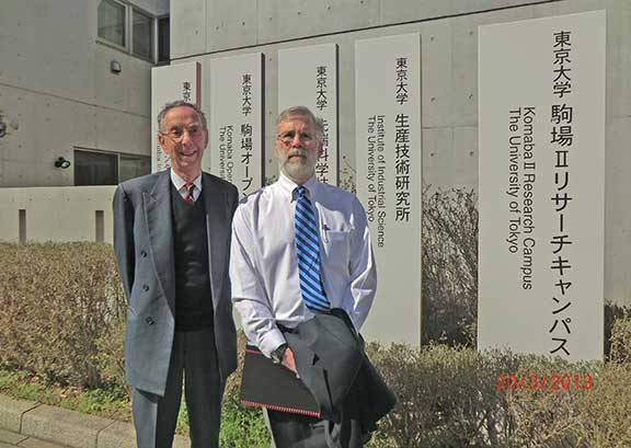 David (ATIP) and Bill Harrod (DOE) visit Prof. KATO at the University of Tokyo during a recent trip to Japan