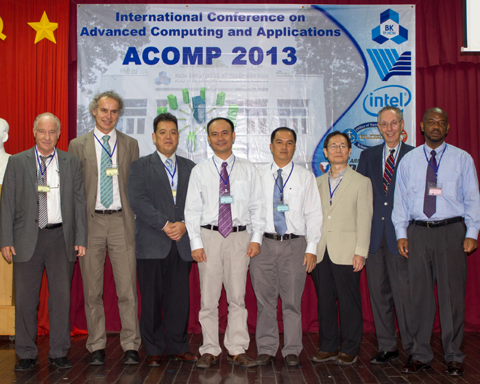 David attends the International Conference on Advanced Computing and Applications (ACOMP) held in Ho Chi Minh City Vietnam in October 2013.