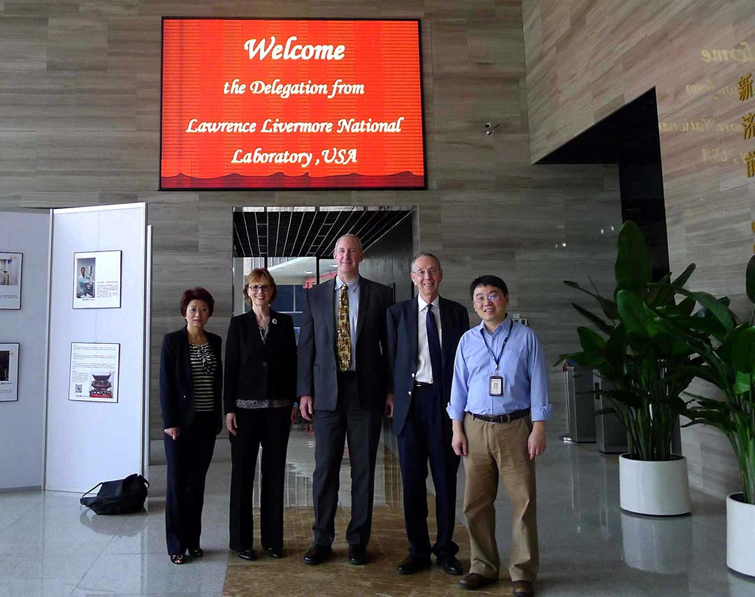 ATIP visits Prof. Ye LI (Director, R&D Department) at Shenzhen Institute of Advanced Technology (SIAT) of Chinese Academy of Sciences (CAS) in April 2014.
