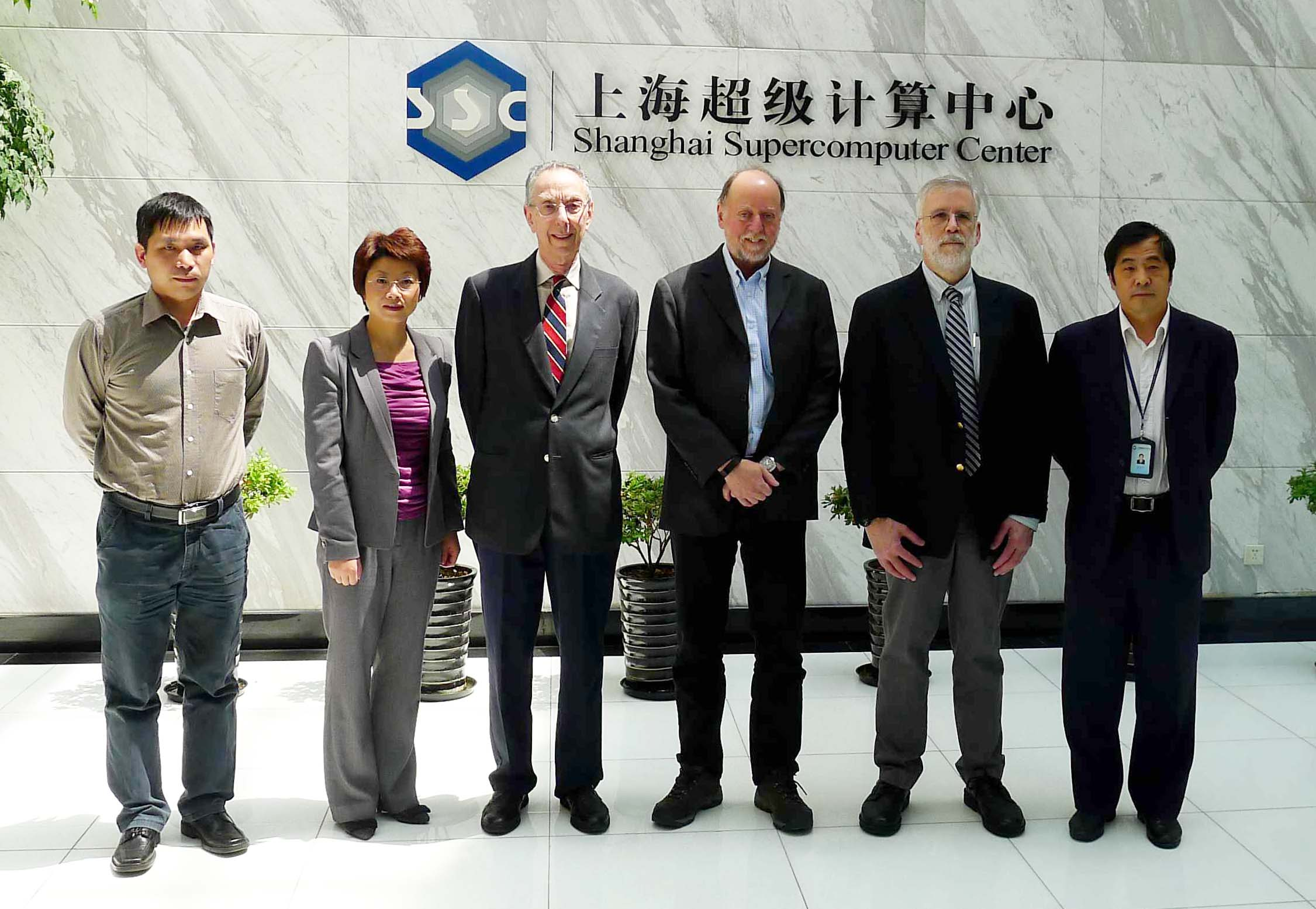 ATIP visits Shanghai Supercomputing Center (SSC) in May 2014